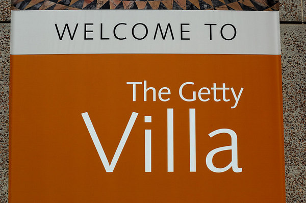 The Getty Villa In Malibu California