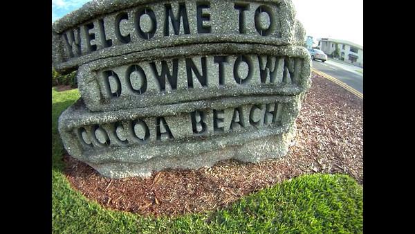 The Kelly Slater Statue Cocoa Beach Florida