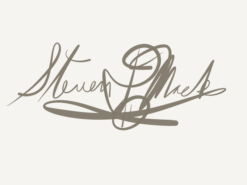 """""""The Signature"""" by Steve Mack"""