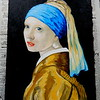 16 Homage to Vermeer - Girl With A Pearl Earring, 11x14, oil, july 13, 2016 DSCN0132