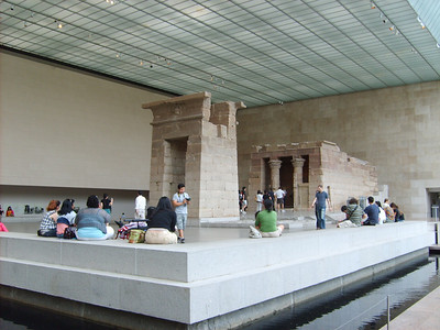 Portal in front of Temple of Dendur