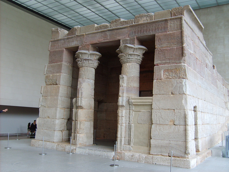 Front of Temple of Dendur