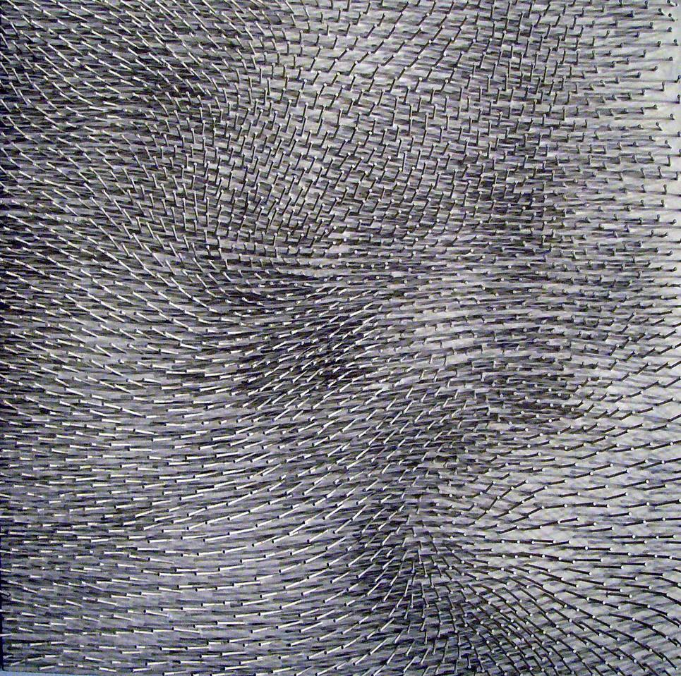 White Field - Gunther Uecker