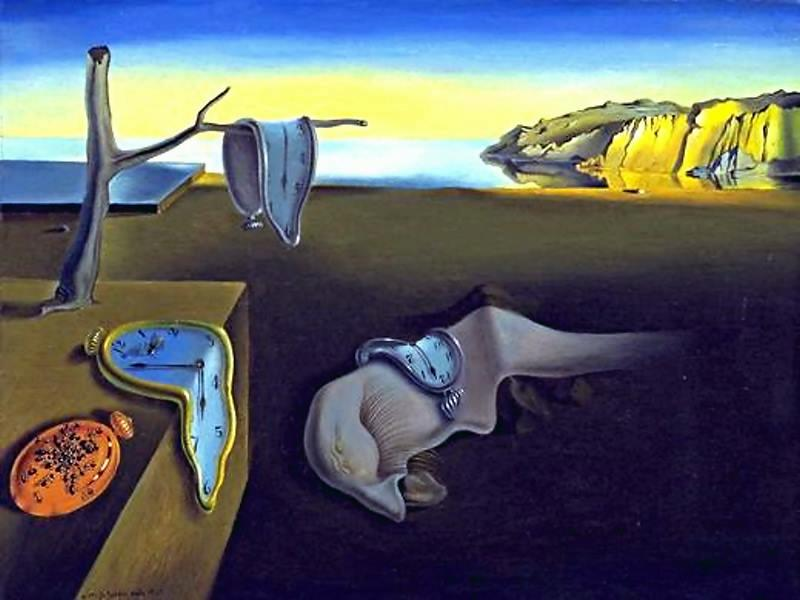 The Persistence of Memory. 1931 - Salvador Dalí.
