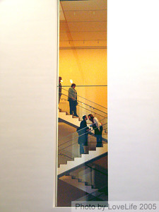MOMA Stair Window V