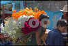 One of my favorite shots,  The Mariposa flower vendor in Patzcauro Michoacan during the Day of the Dead