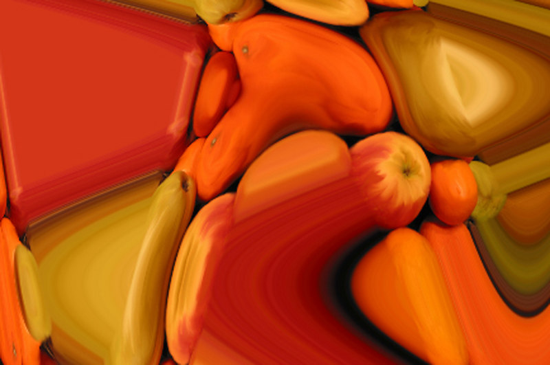 fruit waved