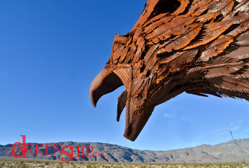 Metal Sculptures– Borrego Springs, CA<br /> Ricardo Breceda has created 129 lovely sculptures in the most unlikely of places.