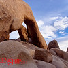 Arch Rock– Joshua Tree National Park-CA<br /> The arch is supposedly invented in Mesopotamia, but the desert has been playfully carving them since before humankind.