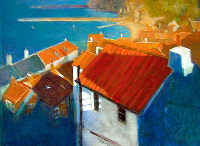 'Rooftops' Staithes