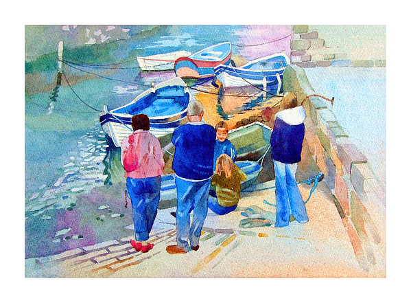 ' Family Outing ' Staithes.