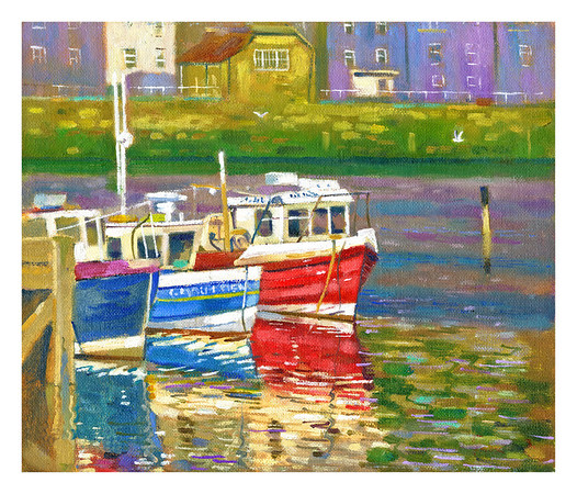 'Trio Of Boat's' Whitby.