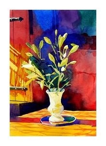' Lilies In Sunlight '
