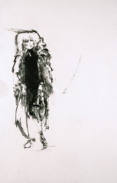Drawing from CATS - Grizabella