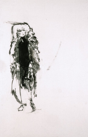 Drawing from CATS - Grizabella (1985)