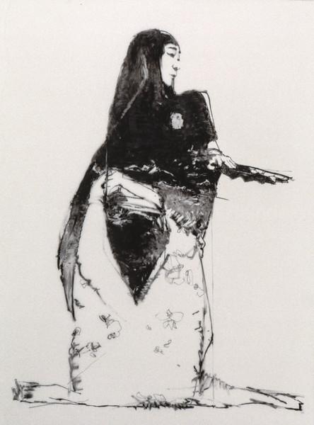 Drawing of Kikugoro