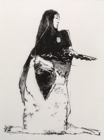 Drawing of Kikugoro (1997)