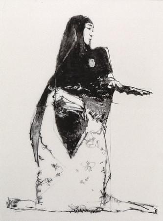 Drawing of Kikugoro (1997)