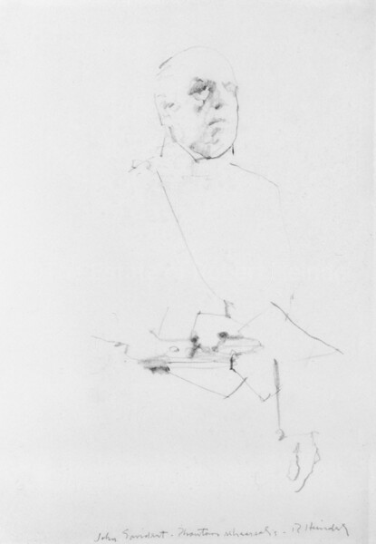 Portrait of John Savident (1986)