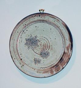 Ceramic Plate<br /> Janny Lai, M.A. Fall 2007