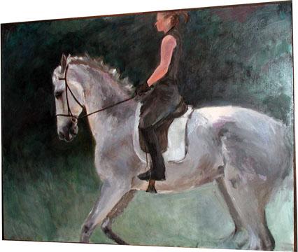 Dressage Horse<br /> Deobrah Traube, B.F.A. Spring 2008