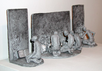 Ceramics, Rosetta Stone - Bob Sullivan, MFA Fall '08