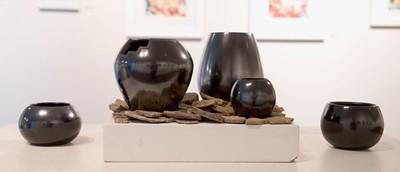 Lucas Todd, BFA 2014<br /> Black Indian Clay Pots