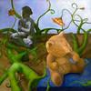 Adolescence<br /> Oil on Canvas<br /> Julia Easer, BFA  Fall '09