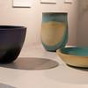 Lucas Todd, BFA 2014<br /> Blue & Yellow Stoneware