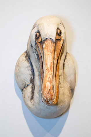 Bill Perry, MFA 2014<br /> Pelican Birdhouse