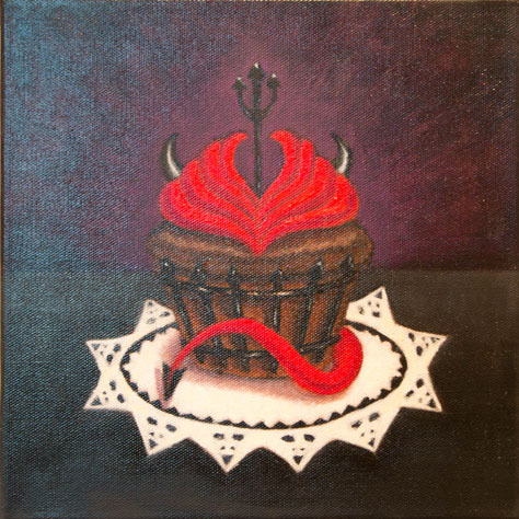 Diane Hart, BFA 2014<br /> Devil Cupcake