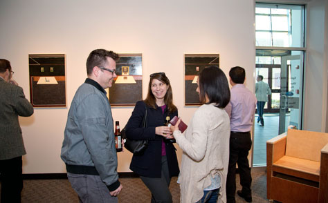 Spring 2014 MFA reception