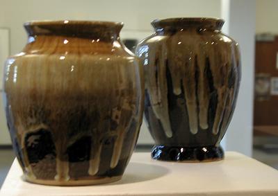 Ceramic Vases - Wanda Cummings, MA Fall '08
