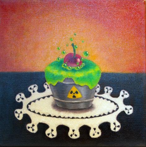 Diane Hart, BFA 2014<br /> Toxic Cupcake
