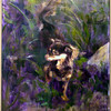 Aubrey's Jungle<br /> Oil on Canvas<br /> Rachel Davis, BFA, Sp 10