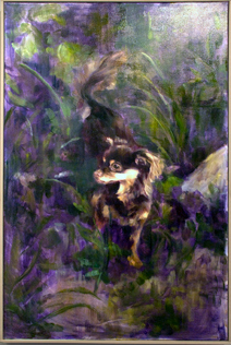 Aubrey's Jungle<br /> Oil on Canvas<br /> Rachel Davis, BFA, Sp 10
