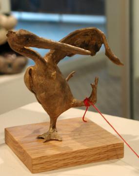 Bronze Seagull - Yevonn Wilson Ramsey, MFA Fall '08
