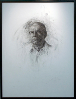 Father<br /> Charcoal<br /> Kelly Schumacher, BFA Sp '10