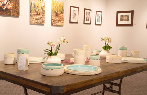 Amber Adkins, BFA 2014<br /> Table for Four