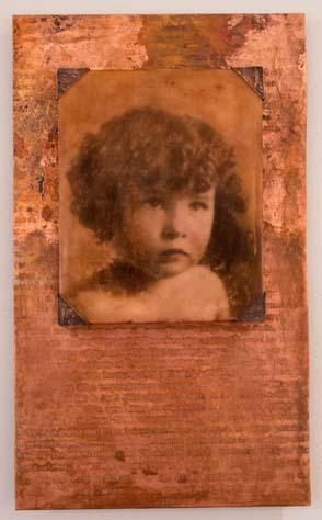 Laura Skroska, MFA 2013<br /> Cherub II Teresa Vietti