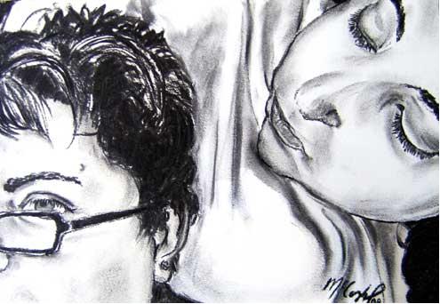 Me and My Muse<br /> Jennifer McCorkel, BFA Spring 2009