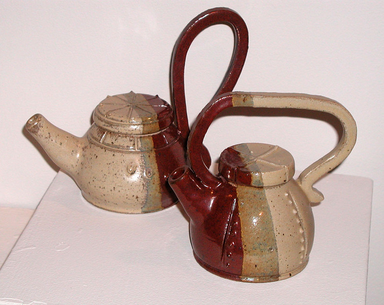 Ceramic Tea Pots<br /> Aaron Dickerson, B.A. K-12 Certification, Spring 2008
