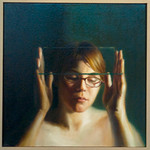 Rebecca Holding Glass<br /> Oil on Canvas<br /> Bo Hwang Kim, MA Sp 10