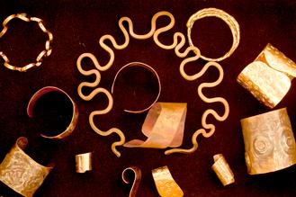 Copper Jewelry<br /> Kelli Sansone, BFA May 2013
