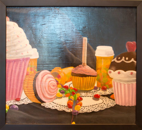 Diane Hart, BFA 2014<br /> Cupcakes and Cigarettes