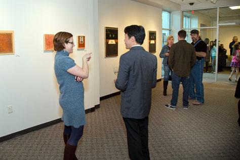 Spring 2014 MFA reception