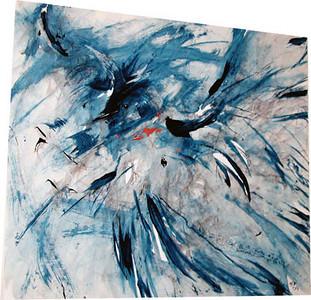 Blue Jay<br /> Gayle Kitchens-Borho, MFA Spring 2009