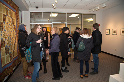 Faculty Exhibit Opening Spring 2015