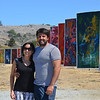 Artist Kiril Jeliazkov and his wife 8-13-13