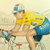 1-Miguel Indurain-1994 Tour de France, 11x15, watercolor & graphite pencil, completed  aug 29, 2015 DSCN0792